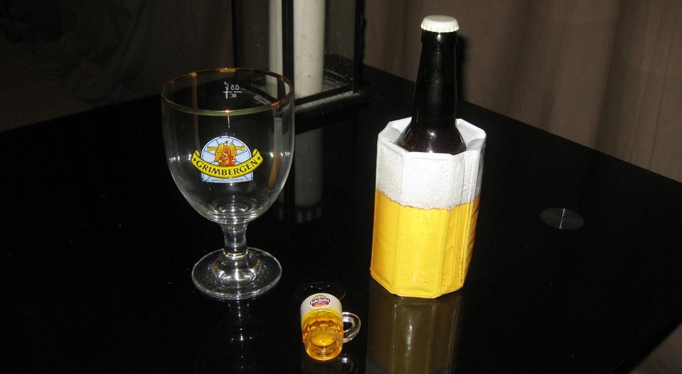 un petit accessoire sympa pour sa bi re the beer lantern the beer lantern. Black Bedroom Furniture Sets. Home Design Ideas